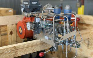 Bettis Actuators with Microfinish trunnion ball valves